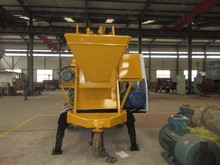 concrete mixing with pump mobile easy to move high quality best price
