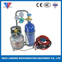 Portable welding torch, petroleum gas welding torch welding blow lamp