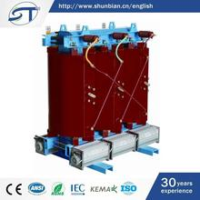 Alibaba French China Two Winding 3 Phase Electrical Equipment Dry Transformer 400Kva