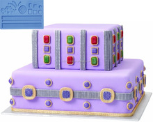 Fondant and Gum Paste Silicone Mold adults Jewelry and Kids Party,children cake decorating fandant mold making cakes