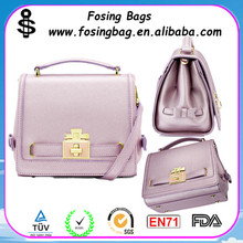 2015 spring and summer trend of European and American new style fashion pu handbag wholesale