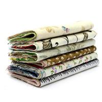 New Arrival 60 A Group Of Random 10x10cm DIY Handmade Cotton Cloth Quilt Textiles