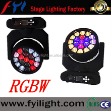 Newnest!!!19x12W RGBW 4in1 stage led beam wash effects moving head light