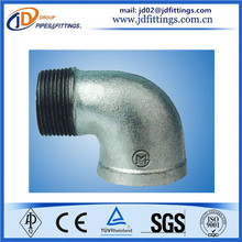 factory direct sale galvanized elbow