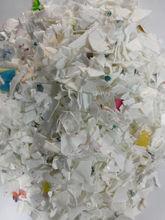 white colour HDPE flakes