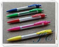 Plastic Cheap Banner Ball Pen For Wholesale