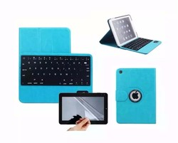 360 Swivel Rotating Stand Case Cover+Bluetooth Keyboard For iPad Air 2 / iPad 6