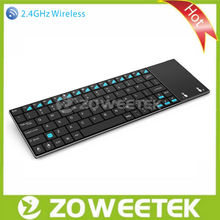 Wholesale original wireless bluetooth slim keyboard with touchpad