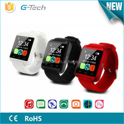 2015 New Bluetooth 4.1 Smart Watch With Android or IOS System ,OEM Multifunction Smart Watch with SMS Compass Pedometer