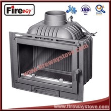 Made in China wood burning cast iron fireplace