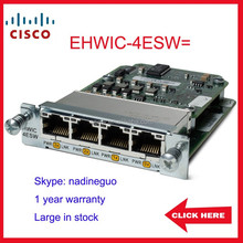 EHWIC-4ESW= Cisco WIC router module