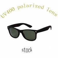 wholesale black soft rubber painting frame polarized wayfarer sunglasses 2015 uv400 in china