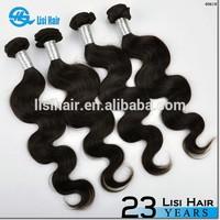 Stock Selling Natural Color Brazilian Virgin Hair 27 Piece Human Hair Weave