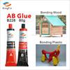 AB glue for plastic bonded aluminum materials