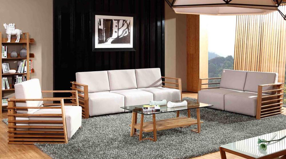 Modern Bamboo Sofa Set (New Design)