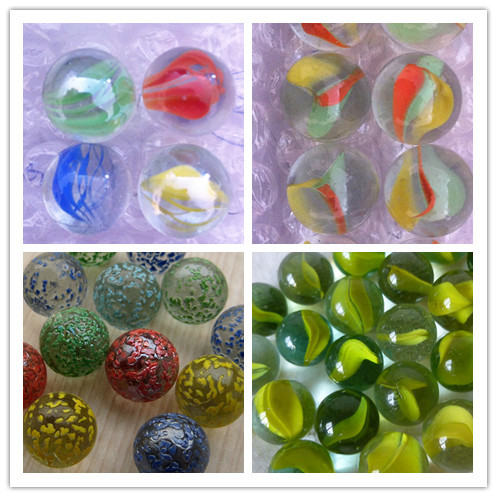 Round Toy Wholesale Different Color China Glass Marbles
