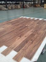 hot sell low glossy UV lacquered ABCD grade natural color Acacia wood flooring