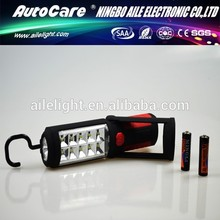 Professional Manufacturer High Performance dry battery rotatable 1w + 10 smd off road led light bar