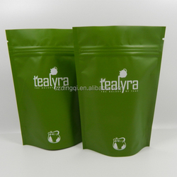 FDA heat seal resealable plastic bags for food