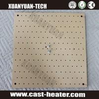 teflon Cast aluminum hot plate for heat transfer