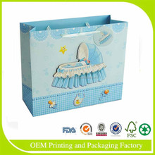 Promotion 4C Recycle Shopping Paper Bag With paper bag rope handle