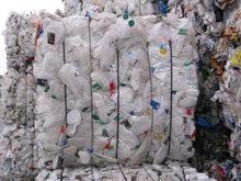 HDPE Milk Bottles Scrap In Baled