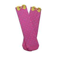 GSW-62 Hot sale colorful dots and bow design anti-odor bamboo sex sexy foot cover ladies stylish socks