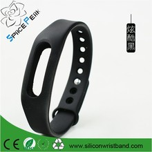 Silicone Xiaomi Replacement Band Pendant+Hang A Rope Accessories For Xiaomi Mi band Wrist Band