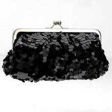 Handmade sequin envelope handbags for party bags