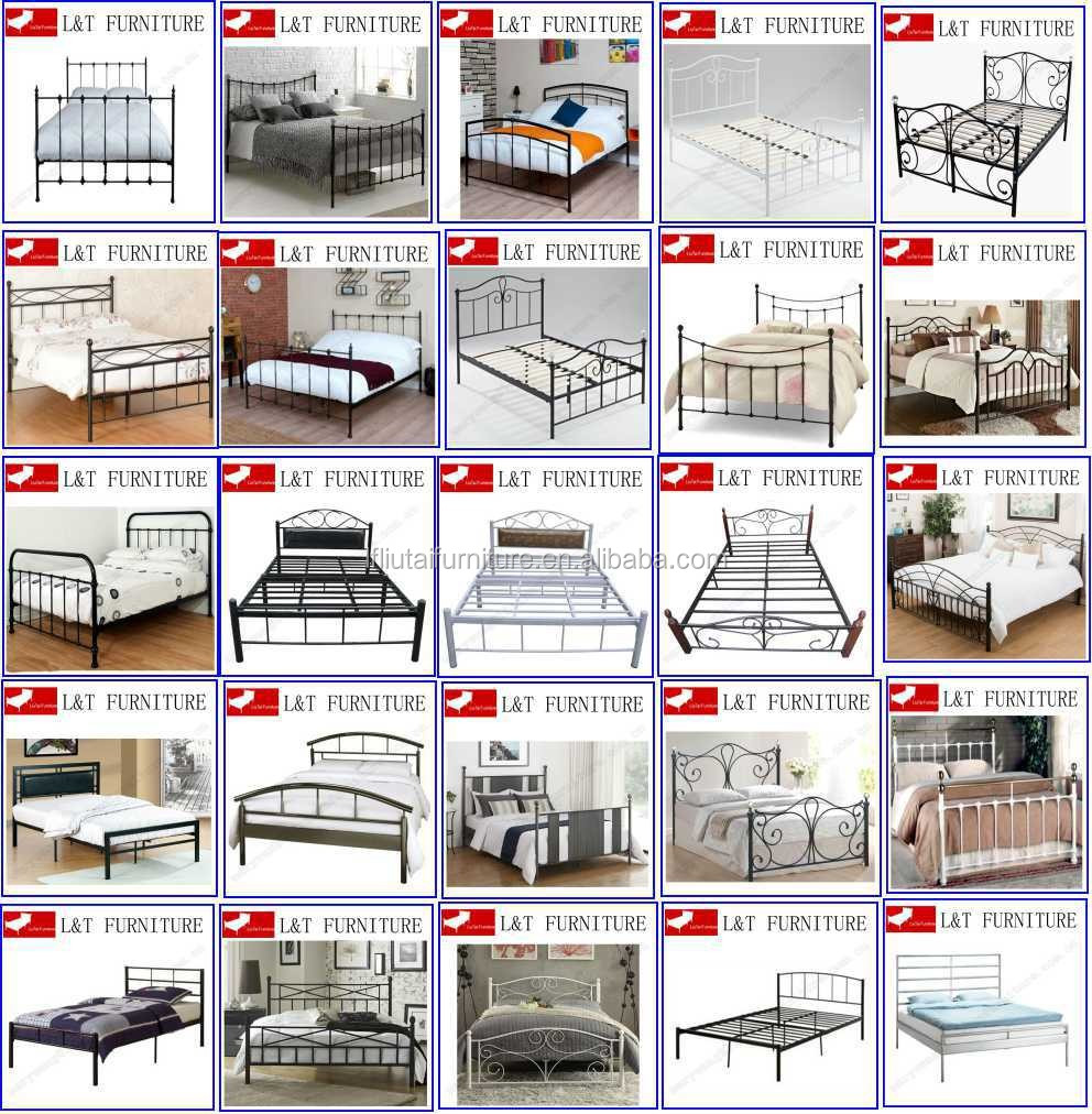 Modern Cheap Folding Single Bed Designs/metal Bed Frame/foldable ...