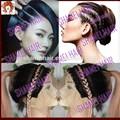 Caliente!!! 2015 nuevo diseño de cabello virgen brasileño pelucas de pelo largo para las mujeres