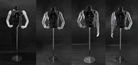 New mix Plastic Mannequin Male mannequin fashion display men clothes male sex toy upper body