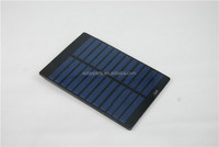 PV portable solar panel for rechargeable battery