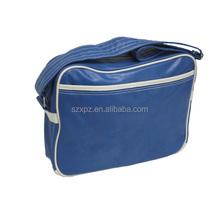 Export men's shoulder bags PU leather messenger bag for teenager