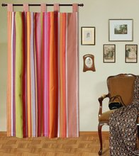 Cotton organdy stripe Curtains