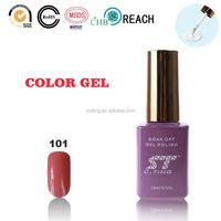 Super Shining UV gel polish for beauty high quality salon uv gel nail polishing