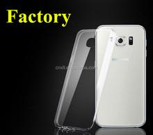 tpu phone case for samsung galaxy note 5 edge ,0.6mm ultra-thin transparent clear tpu case for samsung galaxy S6 edge plus