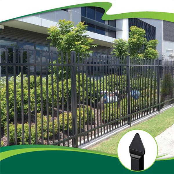 Verja de hierro para el jard n vallado enrejado y puertas for Puertas de jardin de hierro