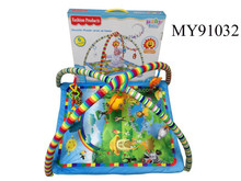 Carpet for outdoor playground with music baby folding play mat padded play mat for babies