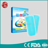 New products on the local skin to effectively reduce the body temperature Physical Cooling Gel Patch