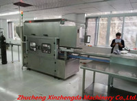 gas flushing tray sealer MAP automatic modified atmosphere packaging machine for seafood