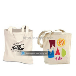 In stock! Full colour printing wholesale plain cotton canvas tote bags bulk