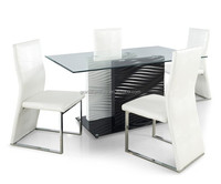New design modern dining table witn chairs dining set