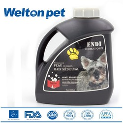 Ultra White Bath Foam, Anti- flea and mites pet shampoo for dogs with white hair