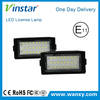 Vinstar professional low price led licence plate lights with E-mark for BW E38(95-01)