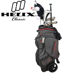 golf clubs and golf bag on Helix