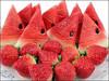 100% real capacity Watermelon summer yummy fruit usb flash Drive Card f Stick Drives32