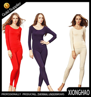 High quality autumn Winter long Johns fashion women's sexy thermal underwear