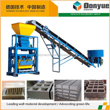 Cement block machine parts easily available from local