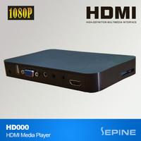 China cheap mini advertising 1080p hdmi input media player